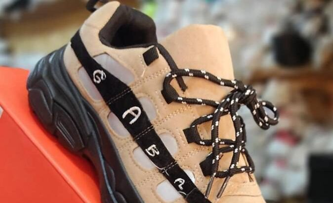 High Quality Fashionable Sneakers (Brown)