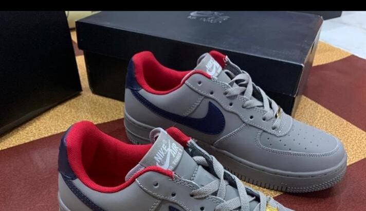 Grey Nike Air Force 1 for Sale