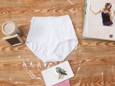 White High Waist Cotton Pant For Sale