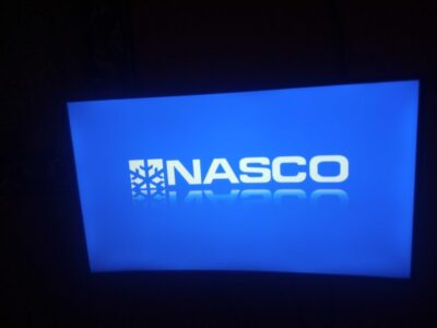A no fault nasco 43 inch curved tv