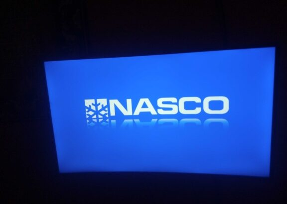 A no fault nasco 43 inch curved tv