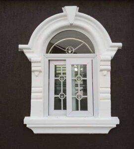 Windows, doors and pillar coping designs