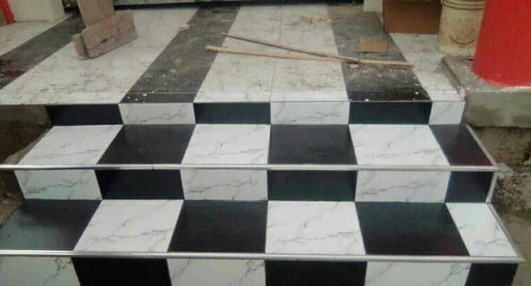 professional tiler
