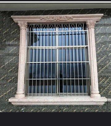 Styrofoam windows and wall design ( P O P)