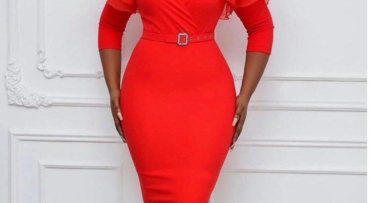 Gorgeous Ladies Red Dress