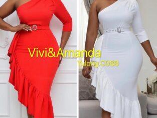 Pretty Ladies Red Dress
