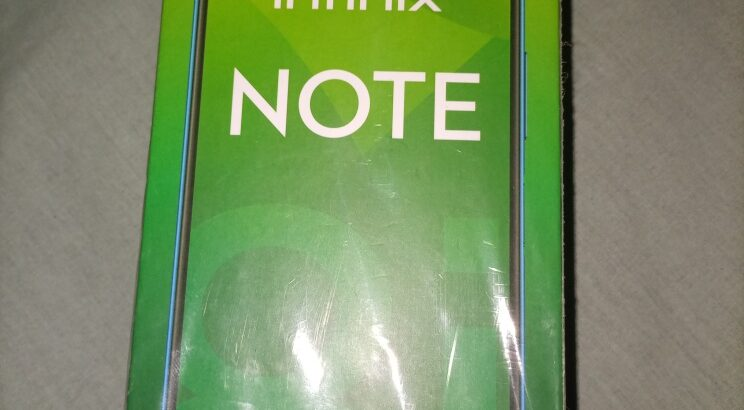 my opened but new infinix note 8