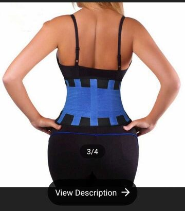 Thick Waist Trainer With Elastic Side Band