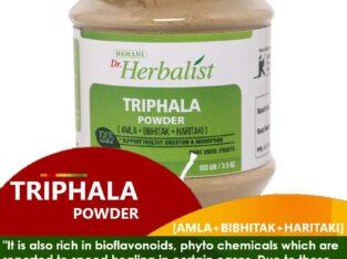 Dr. Herbalist Triphala Powder 100gm