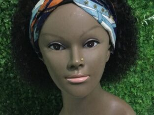 Wetcurls headband wig