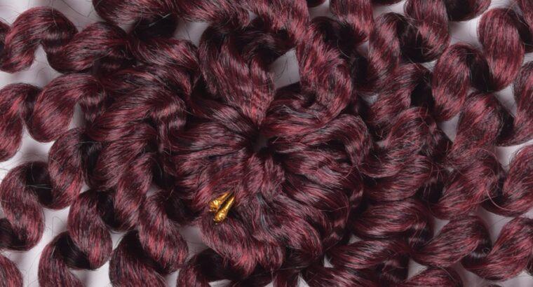 Exceptional crochet braids