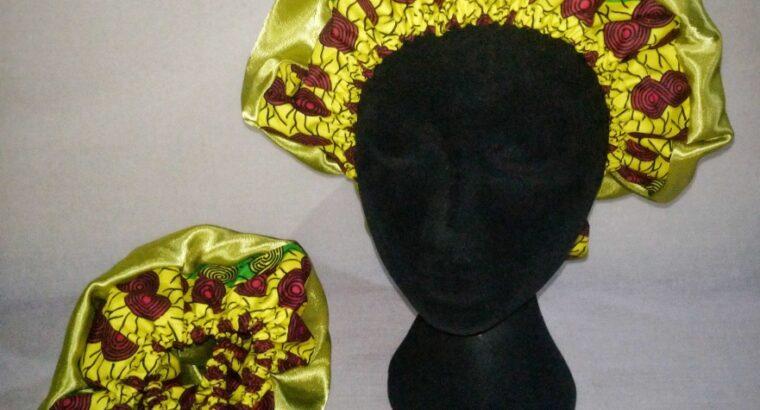 Satin Hair Bonnets