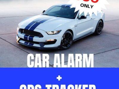 CAR ALARM AND TRACKER