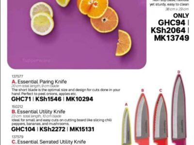 Tupperware Knives
