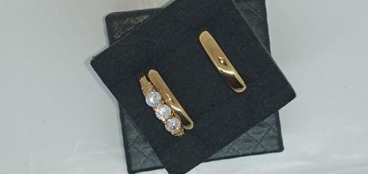Quality promise/engagement/wedding rings set