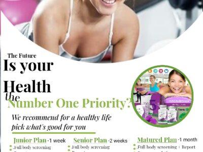 Free Health screening categories