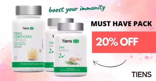 TIENS IMMUNITY BOOSTER FOR REAL
