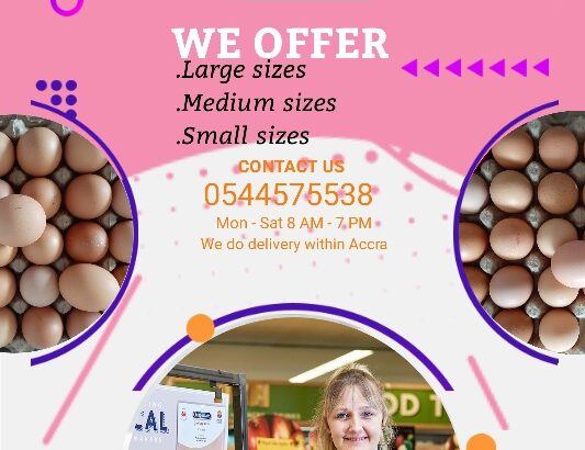 QUALITY EGGS AVAILABLE
