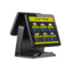 All In One POS Dual Touch Screen Terminal Wifi