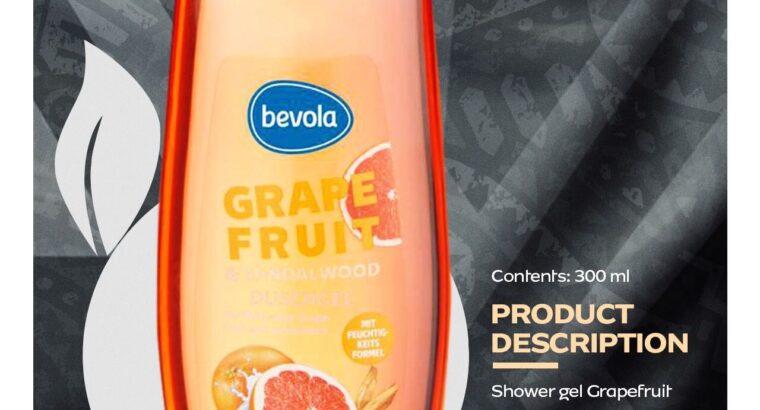 shower gel, deospray