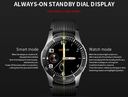 Quality Smart Watch for Men and Women, Full Touch Screen Smartwatch, IP67 Waterproof, etc