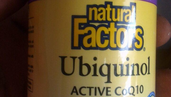 Dietary supplement natural factors ubiquinol