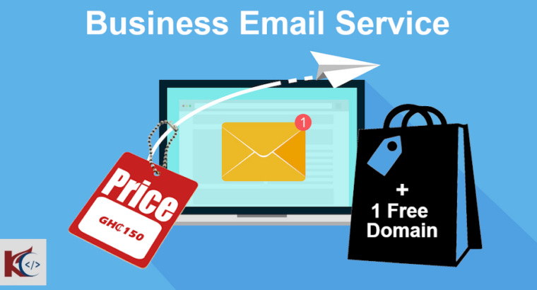 Business Email Solution + 1 Free Domain