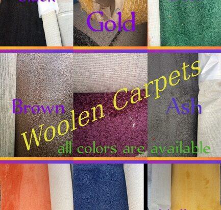 Woolen Carpets(USA brand)