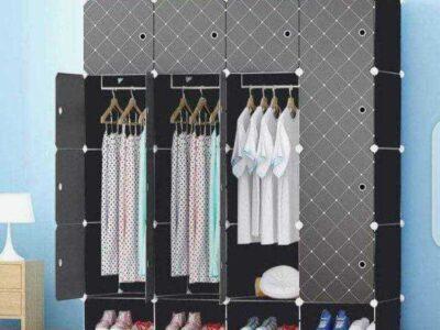 16 Cube Plastic Wardrobe