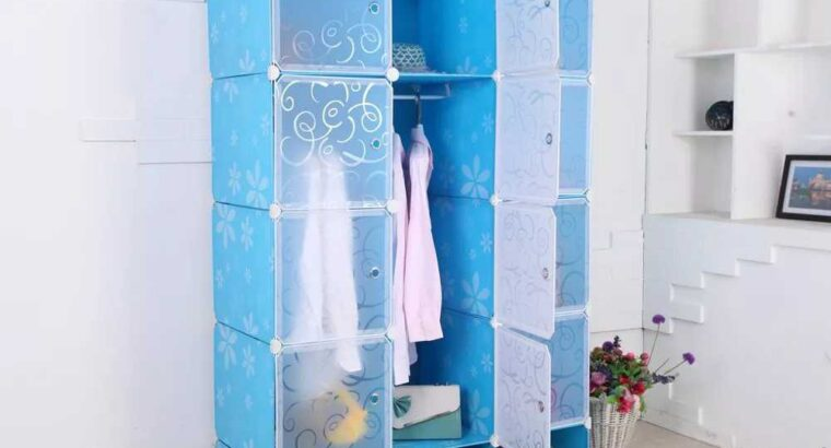 12 Cube Plastic Wardrobe