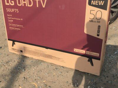 Brand New 2021 Model LG 50″Smart 4K UHD TV