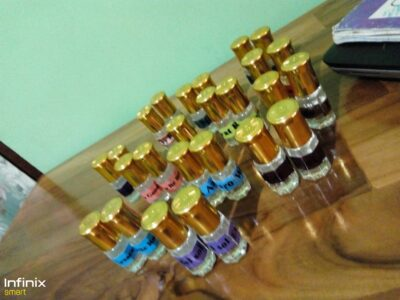 Pure undiluted perfume oil