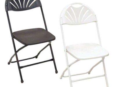 Fan-back chairs