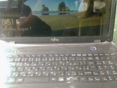 Fujitsu laptop from u.k