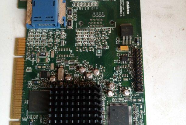 Matrox 7001 vga /Dvi PCI