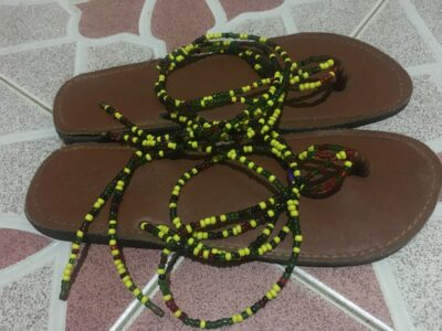 Beaded Slippers for Ladies