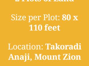 TAKORADI LAND FOR SALE