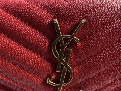 Y.S.L wallet with chain